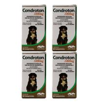Condroton 1000mg 60 comprimidos KIT 4 unid Vetnil -