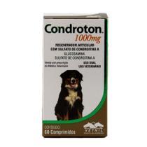 Condroton 1000mg 60 comprimidos Vetnil Suplemento Cães -
