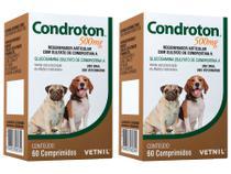 Condroton 500mg 60 Comprimidos - Vetnil - 2 Unidades -