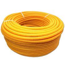 Conduíte 1/2 Polegada 20mm 50 Metros Amarelo Parede Amanco - Amanco Wavin