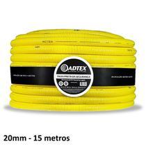 Conduite Adtex 20mm 1/2 Antichama 15m Corrugado Eletroduto -