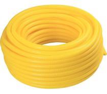 Conduite corrugado amarelo 25mm x 3/4 x 50mts - Dinoplast Leveflex