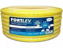 Conduíte Corrugado Amarelo 32mm (1 Pol.) C/25 Mts Fortlev -