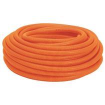 "Conduíte Corrugado Laranja PVC 3/4"" 50m para Laje 2163 COFLEX -"
