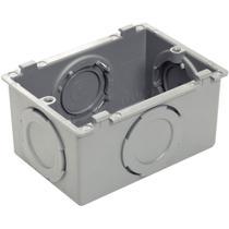 Condulete De Pvc Múltiplo Tipo X Cinza 57250/011 Tramontina -