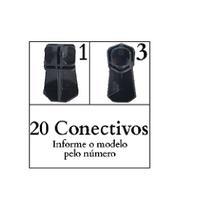 Conectivo Pé 02 Modelos Balcão De Vidro E Aramado 20 Un - Ademaq