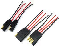 Conector 2 e 4 Vias com Fio 1,5 MM Chicote Plug Para Caixa - Ntv