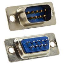 Conector DB9 Macho Solda - DC