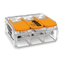 Conector Emenda Wago 3polo 6mm   221-613 Kit C/30 -
