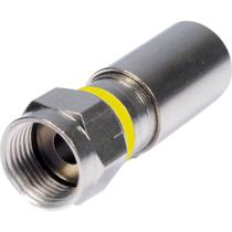 Conector F de Compressão RG6 CFMP0002 STORM - PCT / 100 -