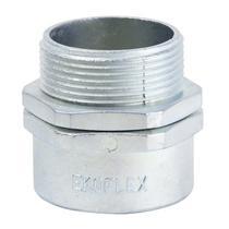 """Conector Macho Giratório 4"""" para Conduíte Aço Corrugado KMZG-400 EKOFLEX -"""