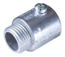 "Conector Reto Em Aluminio 3/4"" Ucv034 Daisa -"