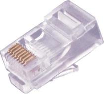Conector RJ45 8X8 CAT5E Pacote com 1000 Peças - Seccon -
