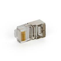 Conector RJ45 Blindado Cat5e 8vias - Outras