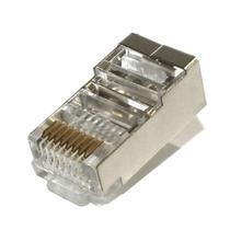 Conector rj45 macho cat6 blindado br cabos - Brcabos