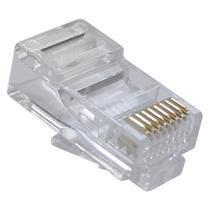 Conector rj45 pacote com 10 - Master