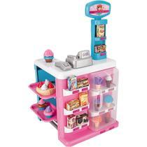 Confeitaria Magica Mercadinho Infantil Com Som E Luz 8047 Cor:Rosa - Magic Toys