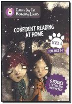 Confident reading at home - big cat reading lions - Collins -