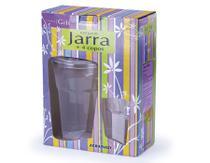 Conjunto 1 Jarra Country C/ 4 Copos REF 704 Agraplast -