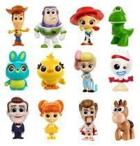 Conjunto 12 Mini Figuras Colecionáveis Toy Story 4 - Mattel -