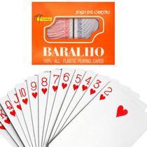 Conjunto 2 Baralho Azul e Vermelho Dois Jogos Truco Poker - Cmz