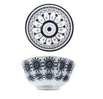 Conjunto 2 Tigelas Bowl Cumbuca Porcelana 600 ml Luxo Importada Verona CH1351-6 / 01 - Santa cecilia