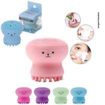 Conjunto 3 Escova de Limpeza Facial Polvo Esfoliante - Maxi Bras