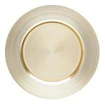 Conjunto 4 Sousplat De Plástico Dourado - Bon Gourmet - Royal Decor