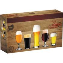 Conjunto 5 Copos de Cervejas EspeciaisNadir - Marinex