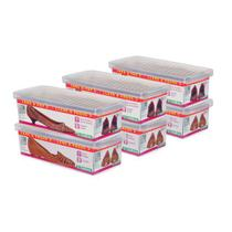 Conjunto 6 Caixas para Sapato Pequeno Ordene OR60050 -