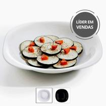 Conjunto 6 Pratos Grande Vidro Temperado Resistente Fundo Almoço Jantar Sopa - Luminarc
