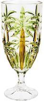 Conjunto 6 Tacas De Cristal De Chumbo Palm Tree Handpaint 450 Ml - Rojemac 27441 - Wolff
