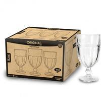 Conjunto 6 Taças para Sorvete 470Ml Original Vidro Super Grosso -