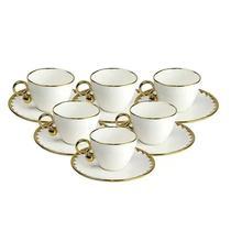 Conjunto 6 Xícaras 200ml Para Café Porcelana Egg Wolff -