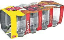 Conjunto 8 Copos Long Drink 360ml Accent Leve 8 Pague 6 Cisper -