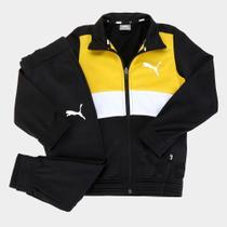 Conjunto Agasalho Infantil Puma Poly Suit Masculino -