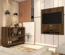 Conjunto Aparador Bar e Painel de Tv Canela 4050-5019 - JB Bechara - J  B Bechara