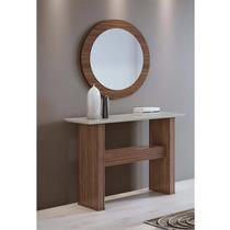 Conjunto Aparador e Quadro com espelho Anápolis Lopas -