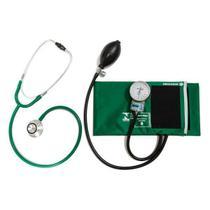 Conjunto Aparelho de Pressão Arterial Esfigmomanômetro e Estetoscópio Rappaport P.A. MED - Cbemed