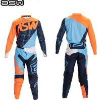 Conjunto ASW Calça Camisa Image Dart Laranja 2020 Tam 38/M -
