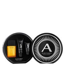 Conjunto Azzaro Pour Homme Full Masculino - Eau de Toilette 100ml + Shampoo 100ml + Pós-Barba 50ml -