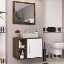Conjunto Banheiro Completo Elite Gabinete Cuba Kit Torneira - Arte Cas