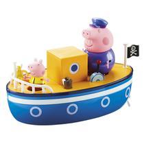 Conjunto Barco Do Vovô DTC Peppa Pig 3 Peças -