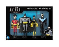 Conjunto batman heroes com 4 bonecos - njcroce - Nj Croce