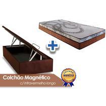 Conjunto Baú Colchão Paropas Magnético +Cama Solteiro 88 - A Costa Rica