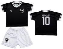 Conjunto Bebê Botafogo Uniforme Preto - Torcida Baby - Revedor