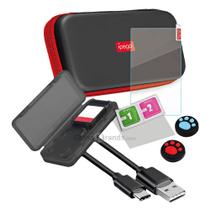 Conjunto Bolsa De Armazenamento 9-em-1 Nintendo Switch Lite - Ipega