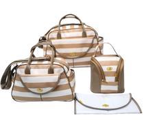 Conjunto Bolsa Maternidade Parma - Kit com 4 peças - Zomma