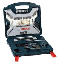 Conjunto Bosch X-line Titanio - 2 607 017 397 - Bosch - 100 Peças -