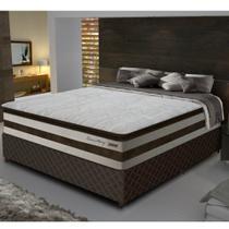 Conjunto Box Casal 138 cm com Pillow Top Love Story Gazin - Gazin Colchões